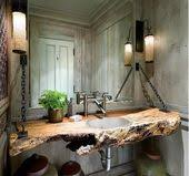 artistic wood pieces design rustic wooden furniture by sda decorations furniture design idea wood log for your bathroom sink bathroom sink artistic wood pieces design