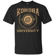 <b>Konoha</b> University - <b>Naruto</b> Classic <b>Print</b> Shirt - <b>Anime</b>, <b>Naruto</b> ...