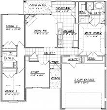 Love This Layout With Extra Stunning Single Story House Plans    Single Floor Modern House Sq Amusing Single Story House Plans