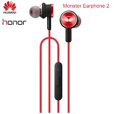 New Original <b>Huawei Honor Monster</b> Earphone <b>2</b> AM17 With Mic ...