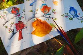 Watercolors - from brush strokes to greeting cards — Elena Wilken ...