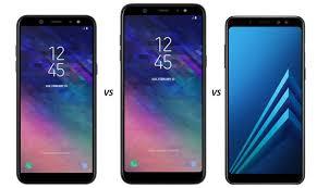 Vergelijking en verschillen: <b>Galaxy A6</b> (Plus) versus Galaxy <b>A8</b> ...