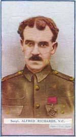 Sale 5012 Lot 527 Sergeant Alfred Richards VC. The Gallipoli 'Lancashire Landing' Victoria Cross Group of Seven to Sergeant A. Richards, ... - 052-Richards