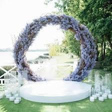 Iron <b>Circle Wedding</b> Birthday Arch Decoration Background Wrought ...