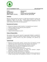 sample of a job description resume template example job description form sample profit and loss statement form resume sample