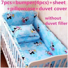 67pcs mickey mouse crib bedding set animal design baby bedding set for baby mickey crib set design