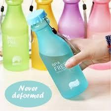 <b>Unbreakable Frosted Leak</b>-<b>proof</b> Kettle BPA Water Bottle for Travel ...