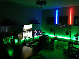 finest gaming computer desk case bedroom comely excellent gaming room ideas