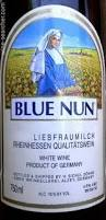 Image result for blue nun wine