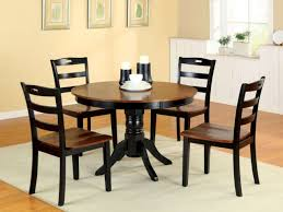 Two Toned Dining Room Sets Small Kitchen Dining Tables Two Tone Round Wood Dining Room Table