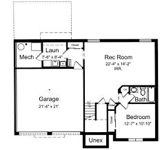 Bi Level Home Plan   ST   st Floor Master Suite  Butler Walk    Reverse Floor Plan Pinit white