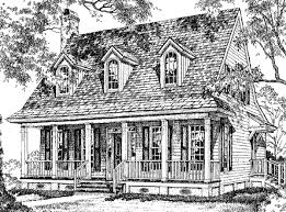 Creole Cottage   William H  Phillips   Southern Living House PlansCreole CottagePlan SL