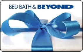 Bed Bath & Beyond Gift Card Balance | GiftCards.com