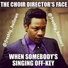 This is how every gospel choir director starts the choir to moving ... via Relatably.com