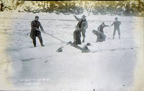 knowledge or instinct  jack london    s  quot to build a fire quot    edsitement    rescuing a man who has fallen through ice