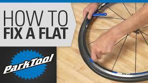 How to <b>Fix</b> a Flat <b>Tire</b> on a <b>Bicycle</b> - YouTube