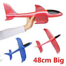 <b>48cm</b> Big <b>Good Quality</b> Hand Launch Throwing Glider Aircraft ...