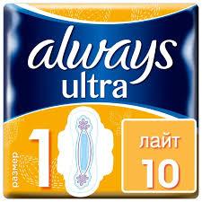 <b>Always прокладки</b> Ultra Light — купить по выгодной цене на ...