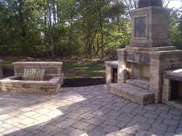 outdoor fireplace paver patio: outdoor fireplace westlake ohio   orig outdoor fireplace westlake ohio