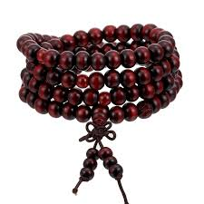 1Pcs 8mm <b>Natural</b> Sandalwood <b>Buddhist</b> Buddha Meditation Wood ...