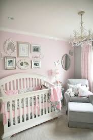 chandeliers are adorable in a babys roomlove the wall decor almost chandelier girls room