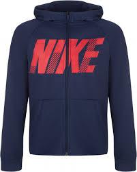 <b>Толстовка</b> для мальчиков <b>Nike</b> Dry темно-<b>синий цвет</b> — купить за ...