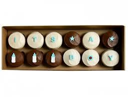 <b>It's A Boy</b> Gift Box Cupcake | Sprinkles