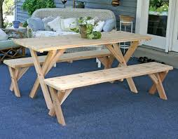 Picnic Table Dining Room Picnic Table Dining Room House Plans And More House Design