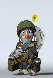 Risultati immagini per guardare un piccione