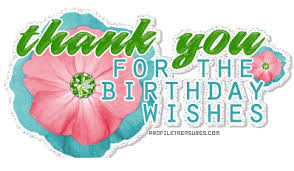 Image result for birthday wishes thanks
