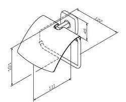"""<b>Am</b>.<b>Pm</b> """"Gem"""" <b>Держатель</b> для <b>туалетной бумаги</b> с крышкой ..."""