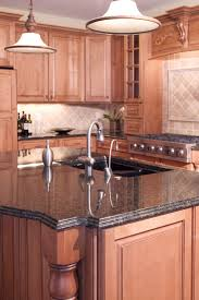 Granite Kitchen Counter Top Kitchen Cabinets And Countertops Beige Granite Countertop Colors