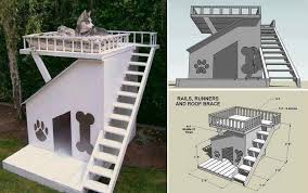 DIY Dog House   Roof Top Deck   Home Design  Garden    Dog House   Roof Top Deck