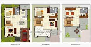 Three Bedroom luxury villa house plan in area of sq ft      sq ft   bedroom luxury villas home plan jpg
