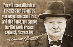 Image result for winston churchill quote on leadership
