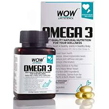 Buy WOW Omega-3 <b>Fish Oil</b> Triple Strength <b>1000mg</b> (550mg EPA ...