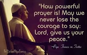 Image result for francis power of prayer