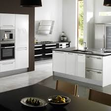 simple modern stainless steel kitchen cabinets