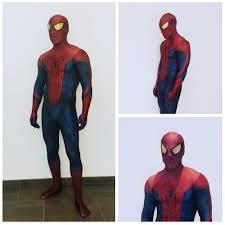 The <b>Amazing Spider man</b> Adult Digital Print Halloween Cosplay ...
