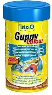 <b>Корм Tetra Guppy</b> Colour для поддержания и усиления окраски ...