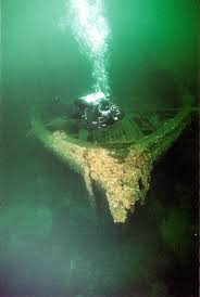 Putman , Shipwreck in Lake Erie, sunken ship in lake Erie