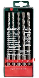 "<b>Набор буров Metabo</b> ""SDS-Plus Classiс"", 5 предметов"