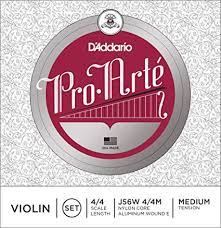 D'Addario Pro-Arte Violin String Set with Wound E, 4/4 ... - Amazon.com