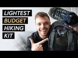 <b>Ultralight</b> backpacking gear on a budget - My cheap <b>hiking</b> gear list ...