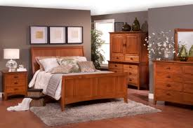 amish casual sharp mission style bedroom furniture interior