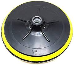 Elitexion <b>7</b> inches Backing Plate for Polishing Buffering <b>Soft</b> Wool ...