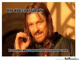 Summer Camp by noobslayyer - Meme Center via Relatably.com