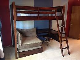 costco bunk bed with built in desk bunk bed desk combo costco