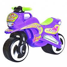 <b>Беговел RT Motorcycle</b> 7 <b>11-006</b> фиолетовый