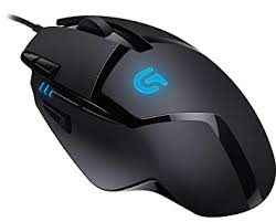 <b>Logitech</b> G 402 Hyperion Fury Wired <b>Gaming Mouse</b>, 4000 DPI